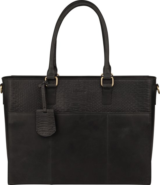 5572b137e57 bol.com | Burkely Hunt Hailey Workbag 14 inch zwart