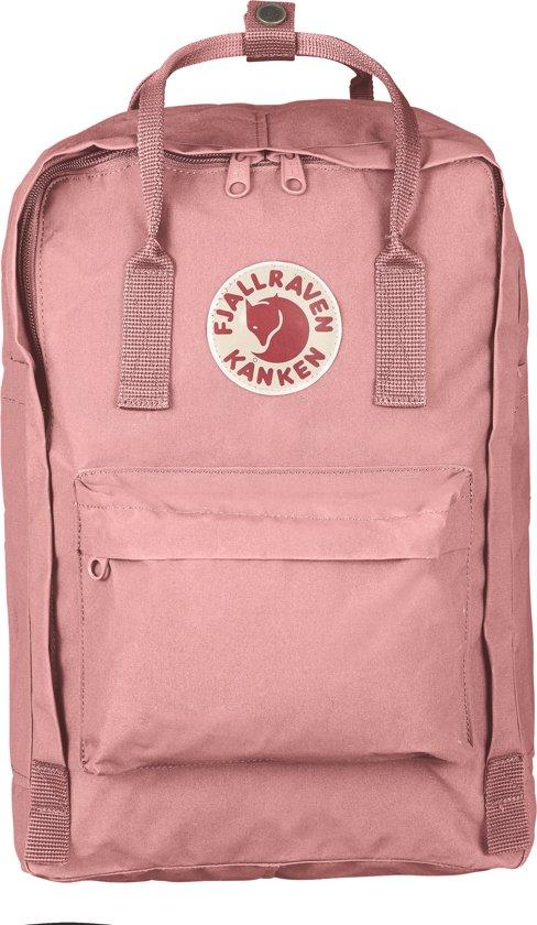 Fjallraven Kanken Rugzak - geschikt voor 15 inch laptop - 18 l - Unisex - Pink
