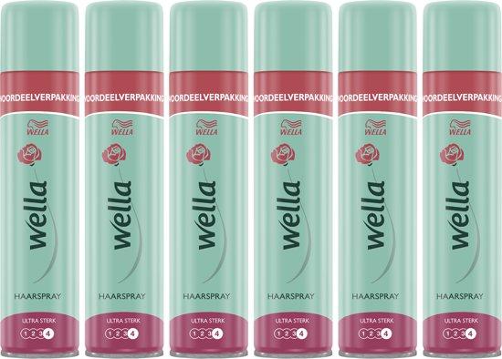 Wella Ultra Strong Hairspray Haarlak - 6 x 400 ml - Voordeelverpakking