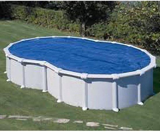 Gre Zwembad Zwembad afdekzeil zomer achtvormig 7,1 x 4,74 m 401067