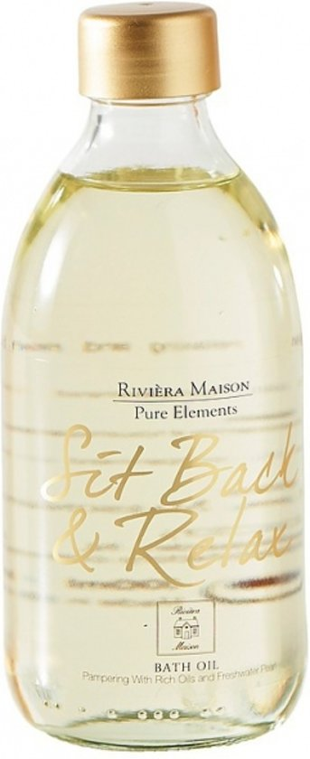 Rivièra Maison Pure Elements - Sit Back & Relax - 300 ml - Badolie