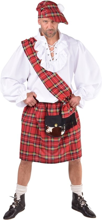 9529152427be43 Schots kostuum  kilt met tasje