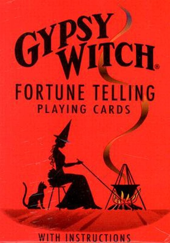 Afbeelding van het spel Gypsy Witch Fortune Telling Playing Cards