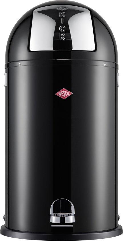 Wesco Kickmaster 33 Liter Bruin.Wesco Kickboy Afvalemmer 40 L Zwart