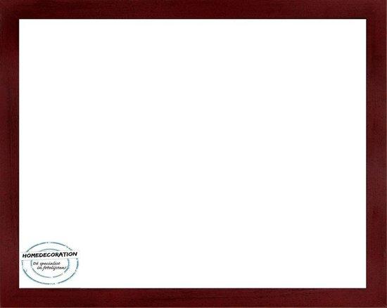 Homedecoration Misano – Fotolijst – Fotomaat – 21 x 30 cm  – Wijnrood