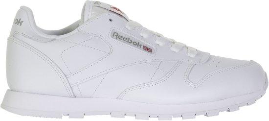 | Reebok Meisjes Sneakers Classic Leather Kids Wit