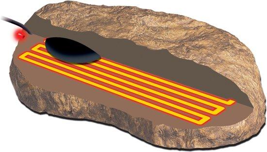 Exo Terra Terrarium verwarmer Heat wave rock - Beige - L