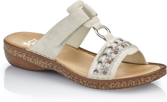 Rieker dames sandaal Wit Maat 39