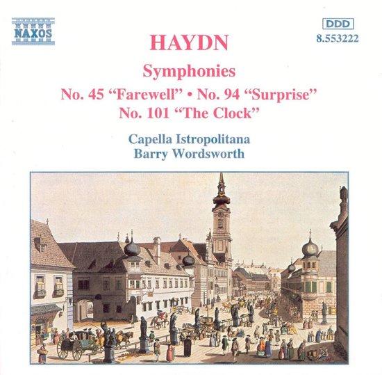 Haydn: Symphonies 45, 94, 101