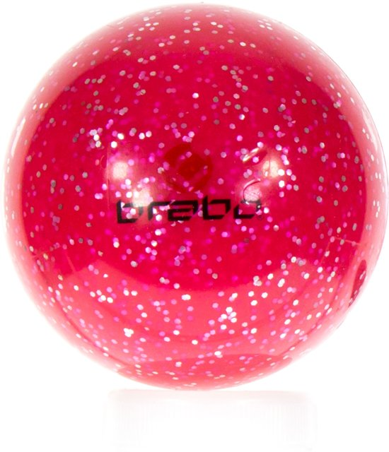 eerste blik zo goedkoop 100% origineel Brabo Smooth Bal Glitter - Hockeybal - Veldhockey - Roze Glitter