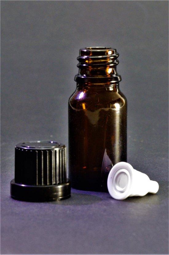 Druppelflesje met Druppelaar 10ml 1 stuk - Glas