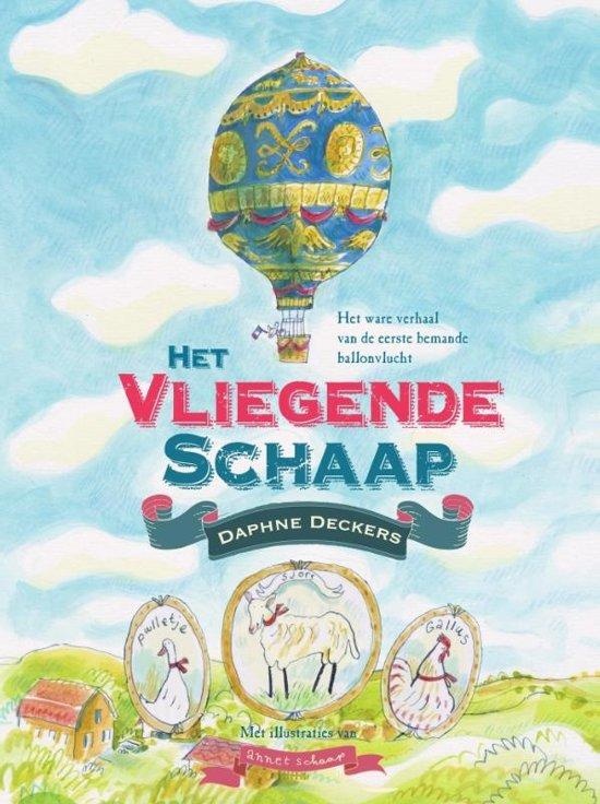 Boek cover Het vliegende schaap van Daphne Deckers (Hardcover)