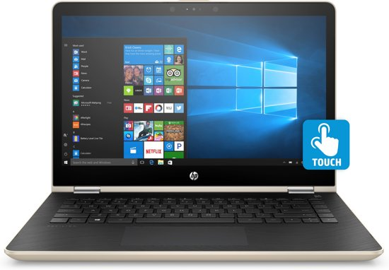 HP Pavilion x360 14-ba010nd - 2-in-1 Laptop - 14 Inch (35,6-cm)