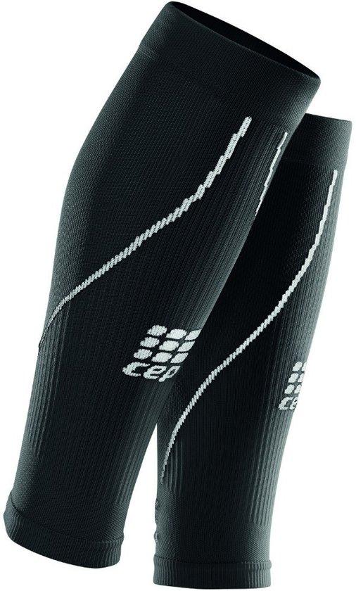 CEP Calf Sleeves 2.0 Hardloopsokken - Heren - zwart/wit Kuit Maat 32-38cm
