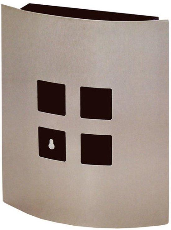 sleutelkastje rvs vierkant. Black Bedroom Furniture Sets. Home Design Ideas
