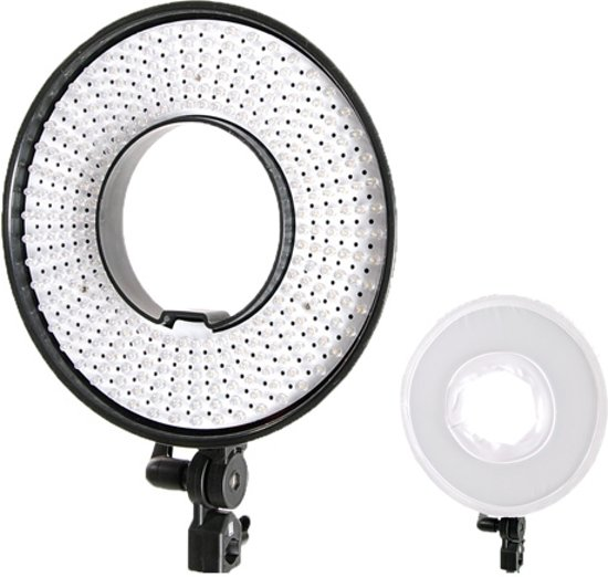 Falcon Eyes LED Ring Lamp Dimbaar DVR-300DVC op 230V
