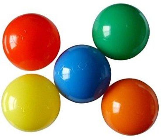 Multi color gekleurde ballenbak - speelhuis - 1000 stuks - voor kinderen