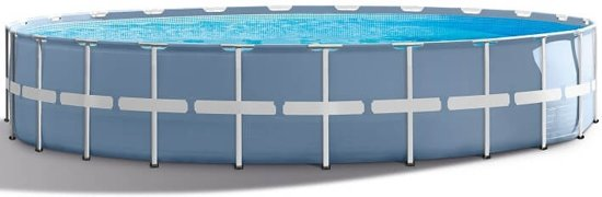 Intex Prism Frame Opzetzwembad Met Accessories 732 X 132 Cm Blauw