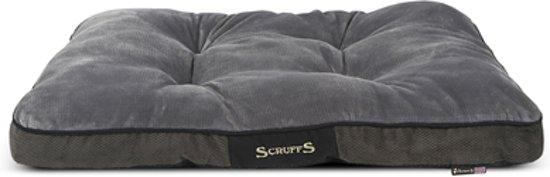 Scruffs Chester Mattress Hondenkussen - L - 100 x 70 cm - Graphite
