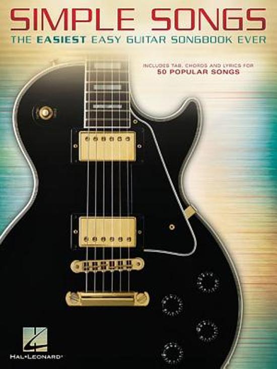 Bol Simple Songs The Easiest Easy Guitar Songbook Ever