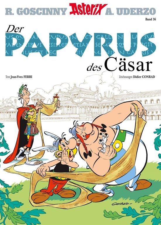 Boek cover Asterix 36 van Jean-Yves Ferri (Onbekend)