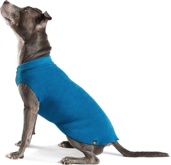Goldpaw - Stretch Fleece hondenjas - Blauwe pullover - maat 18 - grote maten