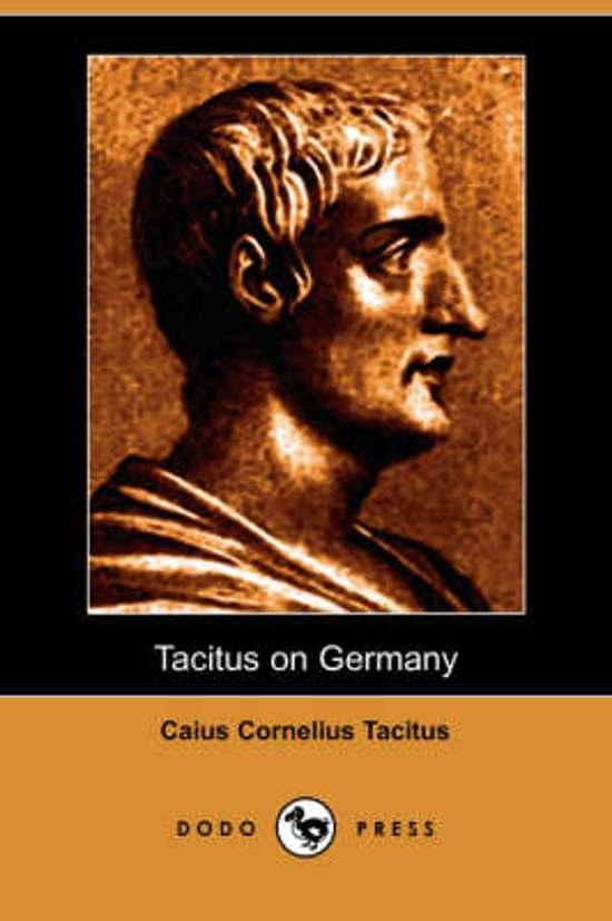 Afbeelding van Tacitus on Germany (Dodo Press)