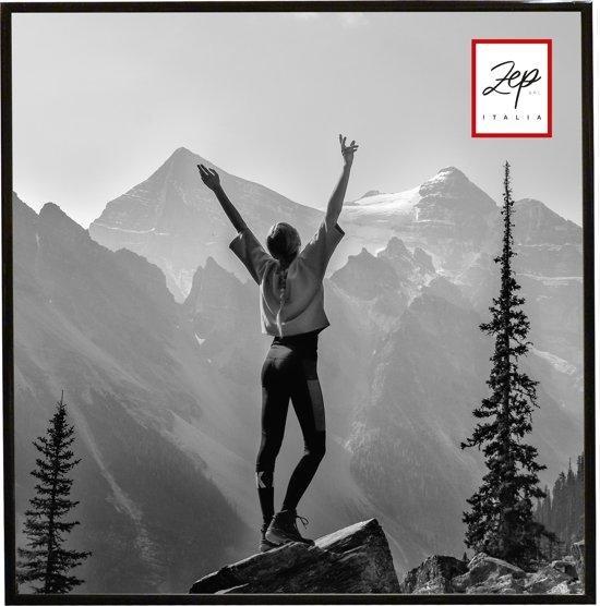 """ZEP Kunststof Fotolijst """"New Easy"""" - Zwart - 50x50 cm"""