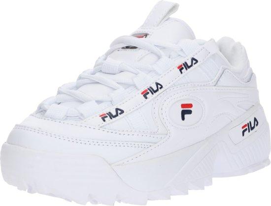 Fila D-Formation Dames Sneakers - White / Fila Navy / Fila ...