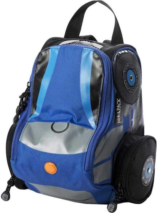 ad018e871e4 bol.com | Pick & Pack Tractor Shape - Rugzak - Blue Multi