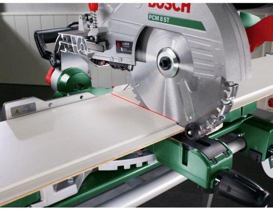 Bosch PCM 8 S Afkortzaag - Met Trekfunctie - 1200 Watt - Inclusief onderstel