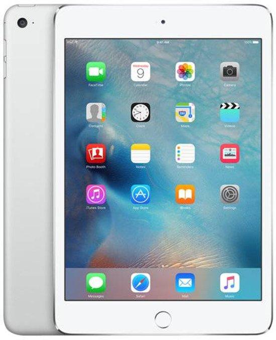 Apple iPad Mini 4 - 128GB - WiFi - Wit/Zilver