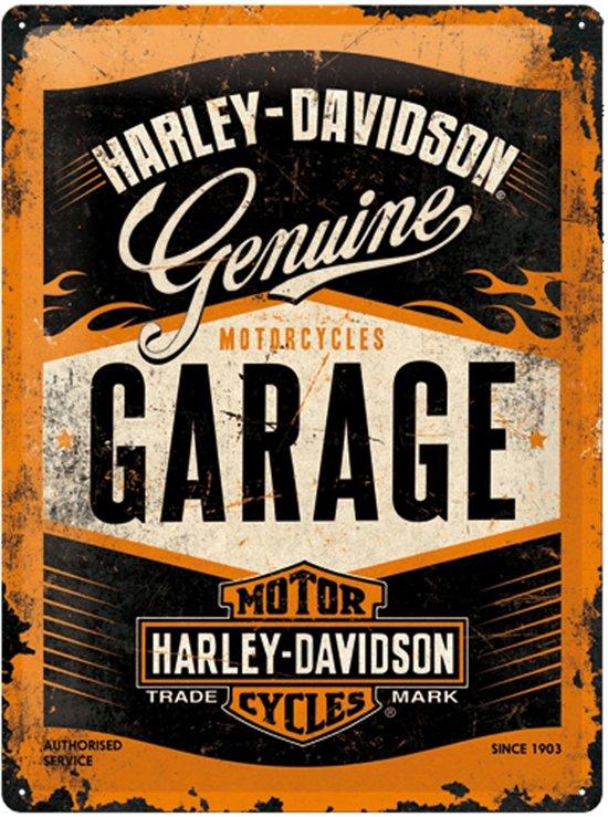 Reclamebord Harley Davidson Garage