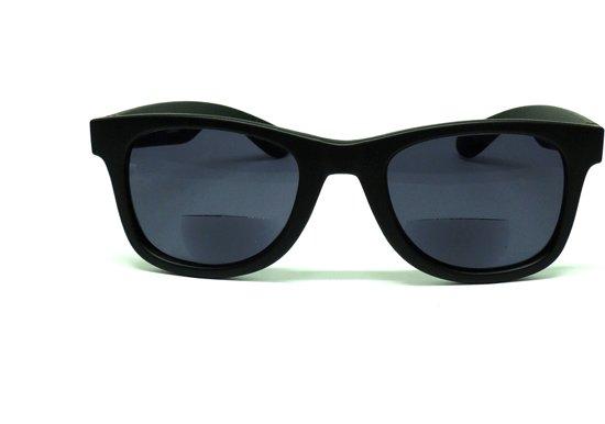 85996d5233e32f GADGERS leeszonnebril Bifocaal Classico Black Smoke BF +2.5 - leesbril -  bifocaal