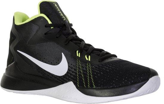 Nike Zoom Evidence Basketbalschoenen Heren Basketbalschoenen - Maat 45 -  Mannen - zwart/wit/