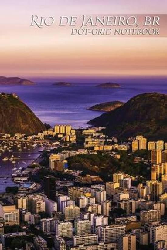 Rio de Janeiro, Br Dot-Grid Notebook