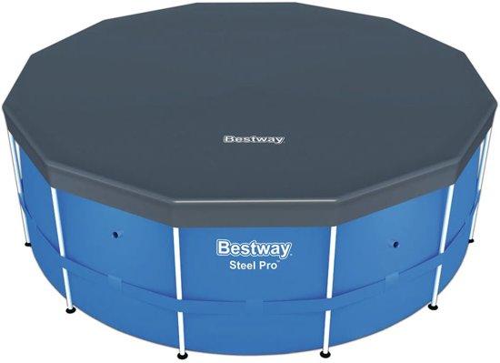 Bestway Steel Pro zwembad stalen frame rond 366x122 cm 56420