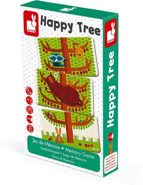 Afbeelding van het spel Janod Spel - geheugenspel - happy tree
