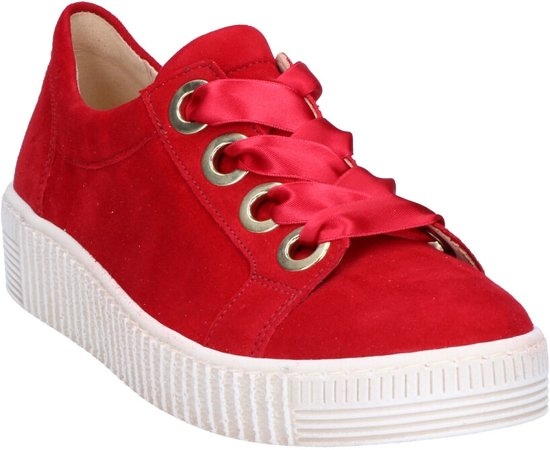 Gabor Best Fitting Rode Sneakers Dames 42