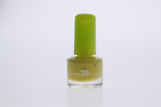 2B-nail polish 5,5ml 42 geel/groen