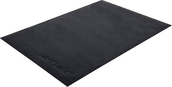 Tunturi Hometrainer mat - Vloerbeschermmat - 100x70x0,5cm - Zwart