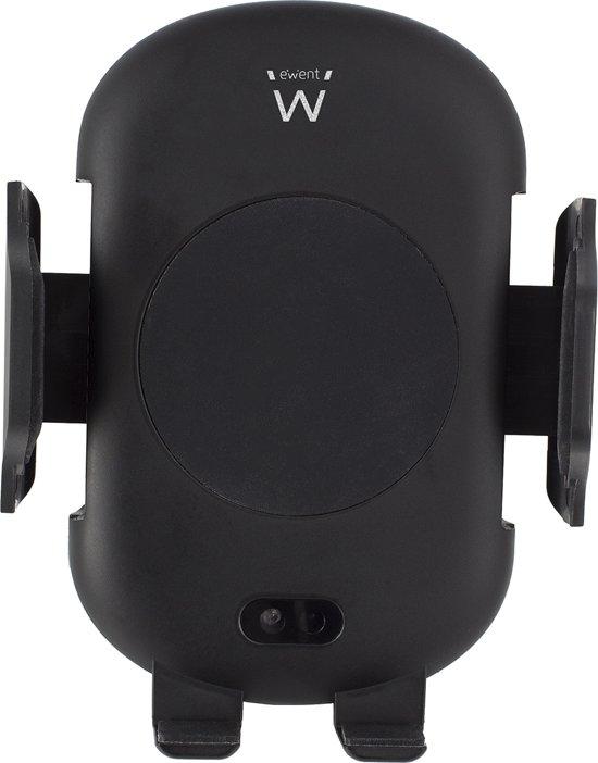 Ewent Automatisch instelbare smartphonehouder met ondersteuning voor snel draadloos laden EW1191