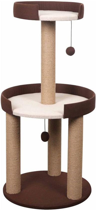 FLAMINGO Katten krabpaal Etage bruin 100 cm 560378