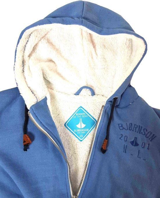 Lichtblauw Teddy 44 Dames Vest Lillian Bjornson Gevoerd Maat wOAfBanqx
