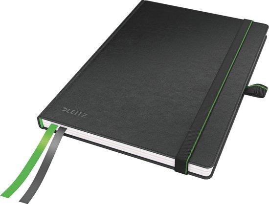 Leitz A5 Notitieboek - Gelijnd - Hardcover - Zwart