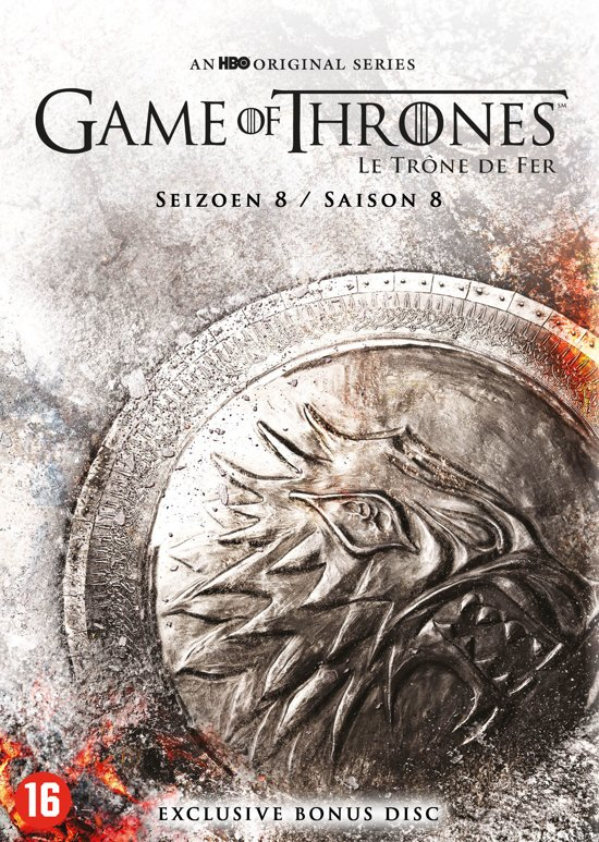 DVD cover van Game of Thrones - Seizoen 8