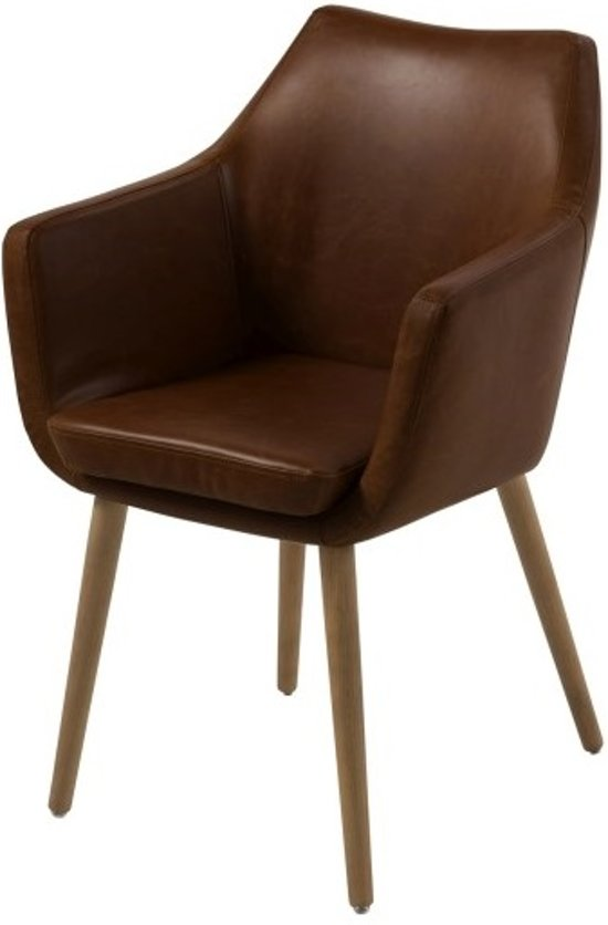 Scandes - Karl Fauteuil - Donkerbruin