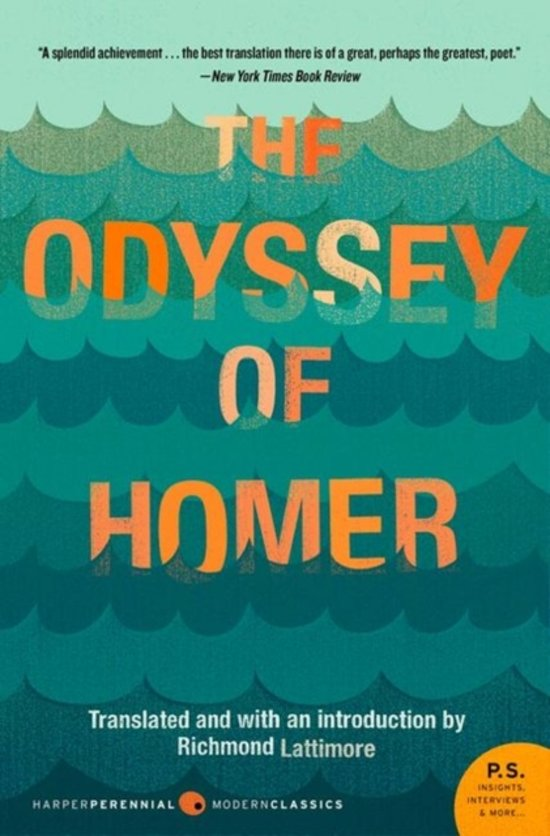an analysis of the odyssey by homer and translated by richard lattimore The book the iliad of homer  in richmond lattimore's faithful translation—the gold standard for but classicist richard martin has added a wealth of.