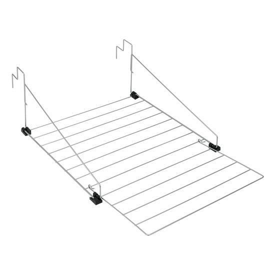 Tomado - Denhaag Radiator/Balkon Droogrek - 9m - zilvergrijs