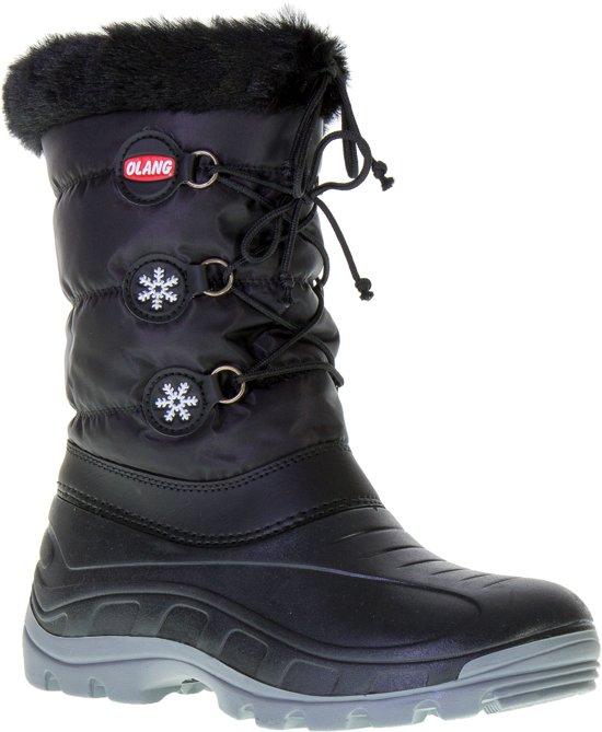Nero Zwart Olang Volwassenen Snowboots Patty fRwqwpY